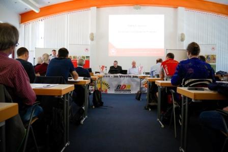 Plenum der Verbands-Hauptversammlung des TRV