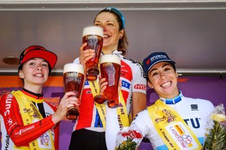 Siegerehrung Lotto Thüringen Ladies Tour