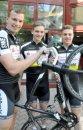 U23 Teamsprinter (v.l. Richard Aßmus, Jan May und Maximilian Dörnbach)