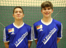 Sieger des 1.EM-Qualifikationsturnier U19 - v.l. Nils Kebsch und Manuel Paschka
