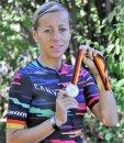 Nach den Meistertrikots im Einzelzeitfahren in den letzten beiden Jahren musste sich Trixi Worrack diesmal mit der Silbermedaille begnügen.