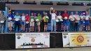 Siegerehrung beim Bundesradsporttreffen