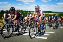 das Hauptfeld der Lotto THüringen Ladies Tour