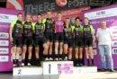 Die Spitzenreiter der Frauen-Bundesliga, das Team maxx-Solar Lindig aus Thüringen