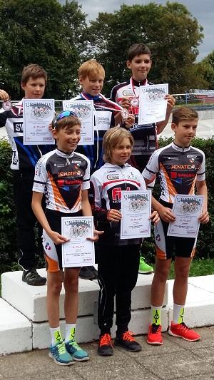 Siegererhung U13 männlich