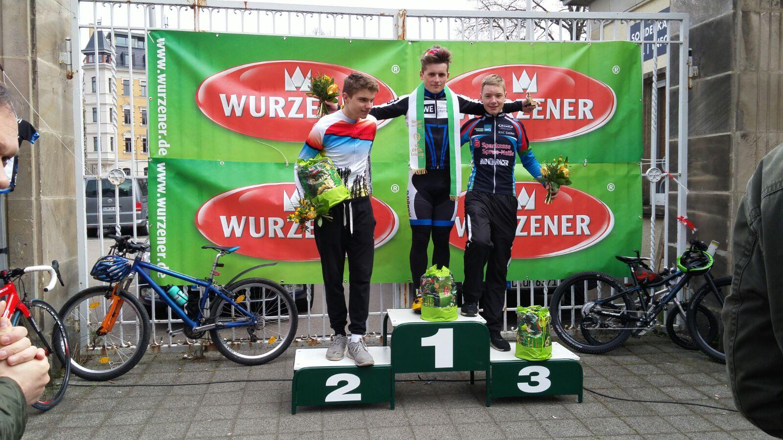 Sieg von Max Gehrmann in Leipzig